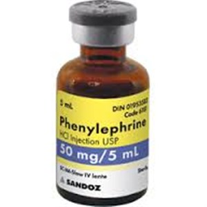 فينيليفرين  - Phenylephrine