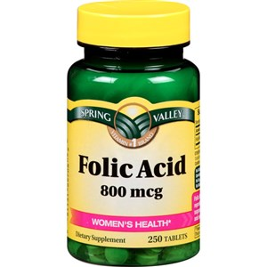فوليك أسيد  - Folic Acid amoun